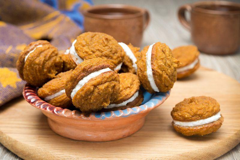 Тыквенное печенье рецепт с фото