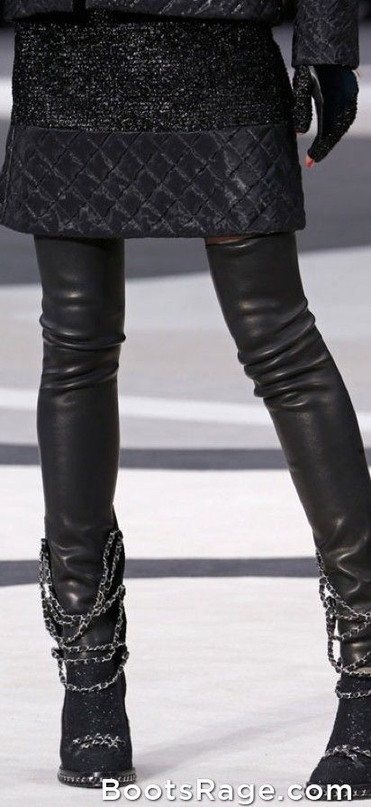 chanel fall 2013 - Women Boots And Booties
