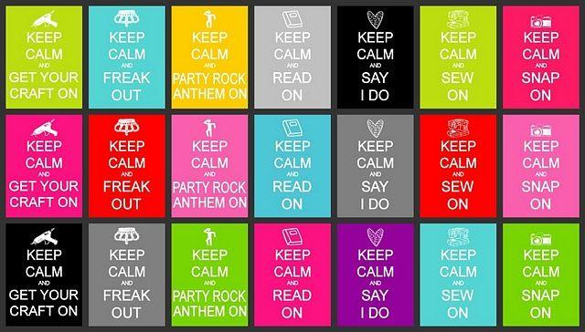 keep calm randoms