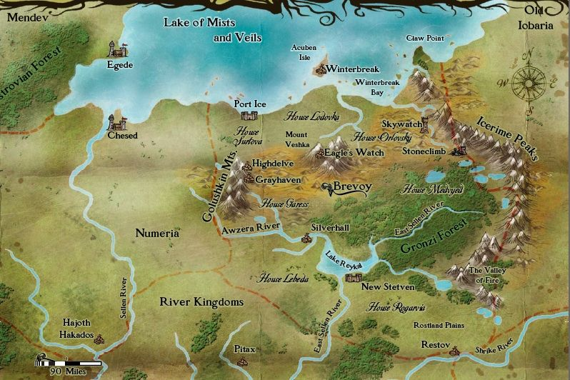 Pathfinder: Kingmaker Adventure Path   Brevoy and the River