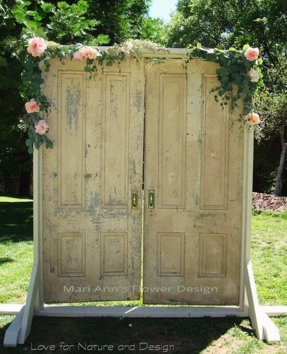 Rustic Door Wedding Ideas: Pin By Melody Simpler On Reuse, Recycle, Rethink