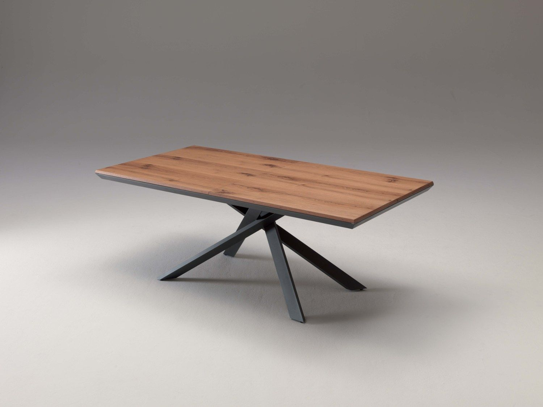 Table Extensible Rectangulaire En Bois 4x4 By Ozzio Italia Design Giulio Manzoni Table Extensible Table A Manger Extensible Table Salle A Manger