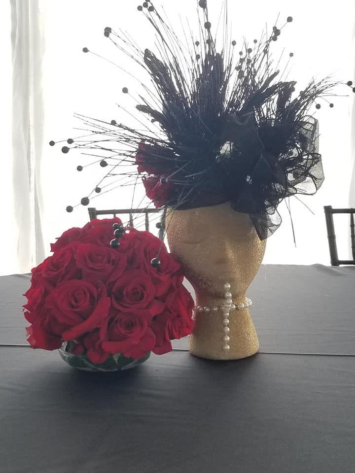 Variety Club Black Hat Fundraiser Florist Flowers
