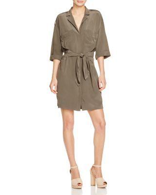 58f7648c4e4 REISS Arizona Belted Shirt Dress