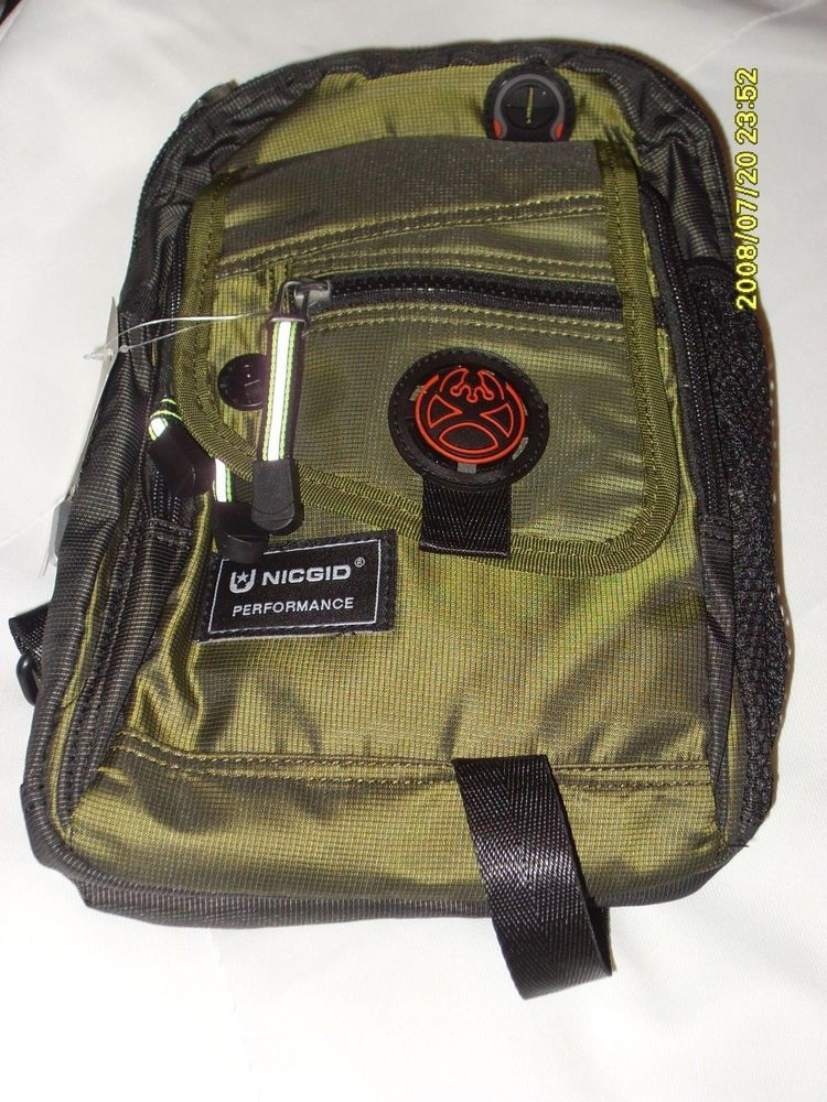 42a183126137 Nicgid Sling Shoulder Backpack Outdoor Hiking Daypack Cross-body Army Green  NEW #fashion #