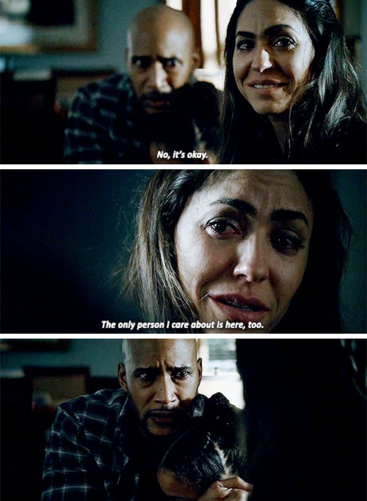 """""""The only person I care about is here, too"""" - Elena and Frameword Mack #AgentsOfSHIELD"""