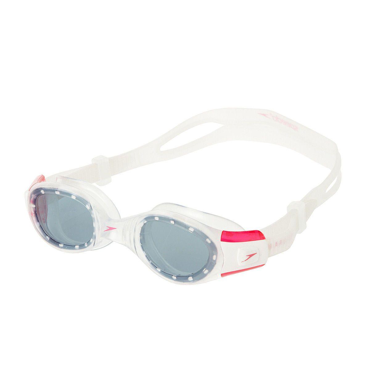 Speedo Goggles - Speedo Futura Biofuse Goggles - Pink/Smoke