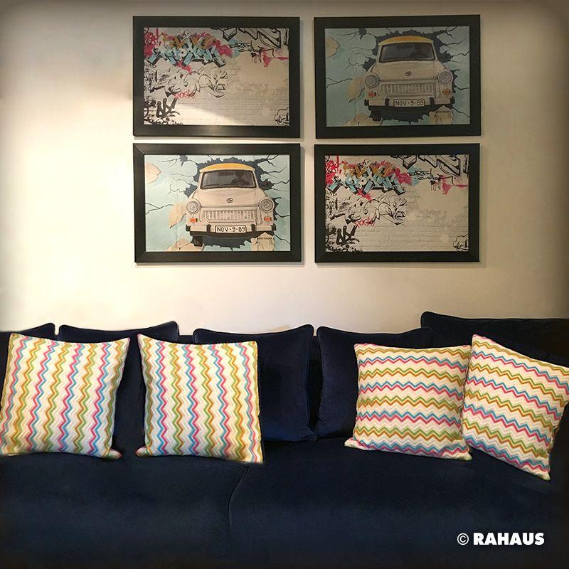 Living Berlin Möbel durchbruch sofa stil berlin rahaus kissen patchwork wood