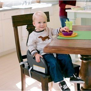 Portable Child Booster Seat Chair Tan For Toddlers Kids Convertible Table Eating