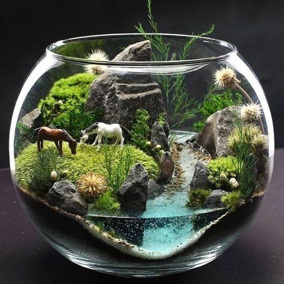 26 amazing diy mini terrarium garden projects and ideas 26 ...