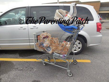 How To Put A Car Seat On A Shopping Cart Never Balance A Car Seat On A Shopping Cart Car Seats Newborn Carseat Baby Car Seats