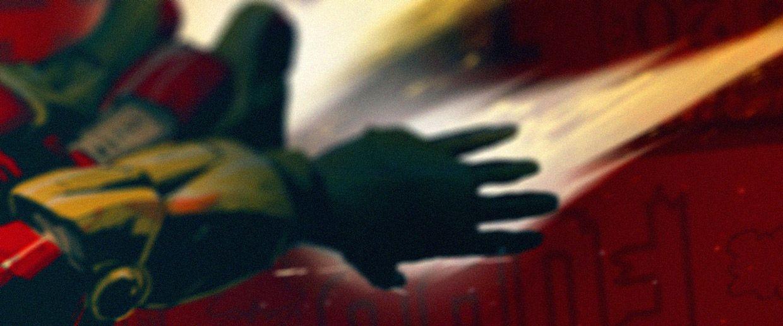 Title Concept Art || Iron Man 3 || by Ash Thorp || 736px × 306px || #conceptart