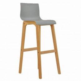 Tremendous Nord Wooden Bar Stool Light Grey Kitchen Extension Dailytribune Chair Design For Home Dailytribuneorg