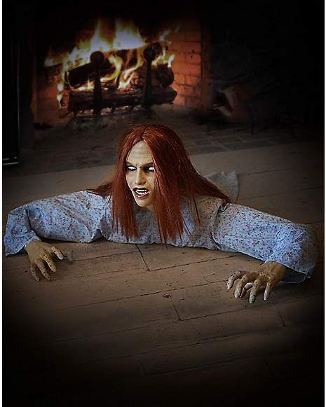 3 Ft Crawling Dead Animatronics with Remote Control - Decorations