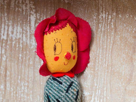 Doli Prickly Pear Flower. One-of-a-kind handmade by misakomimoko