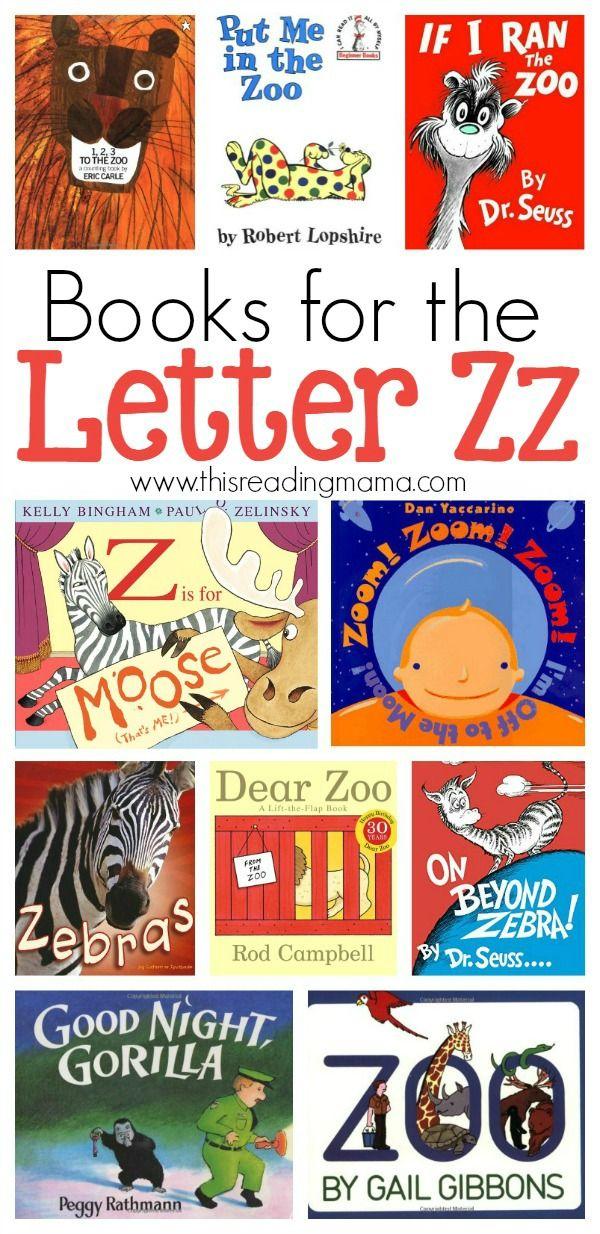 Letter Z Book List | Z book, Preschool books, Preschool ...