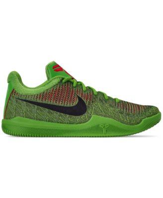 wholesale dealer b5098 63891 Nike Men s Kobe Mamba Rage Basketball Sneakers from Finish Line - Green 9.5