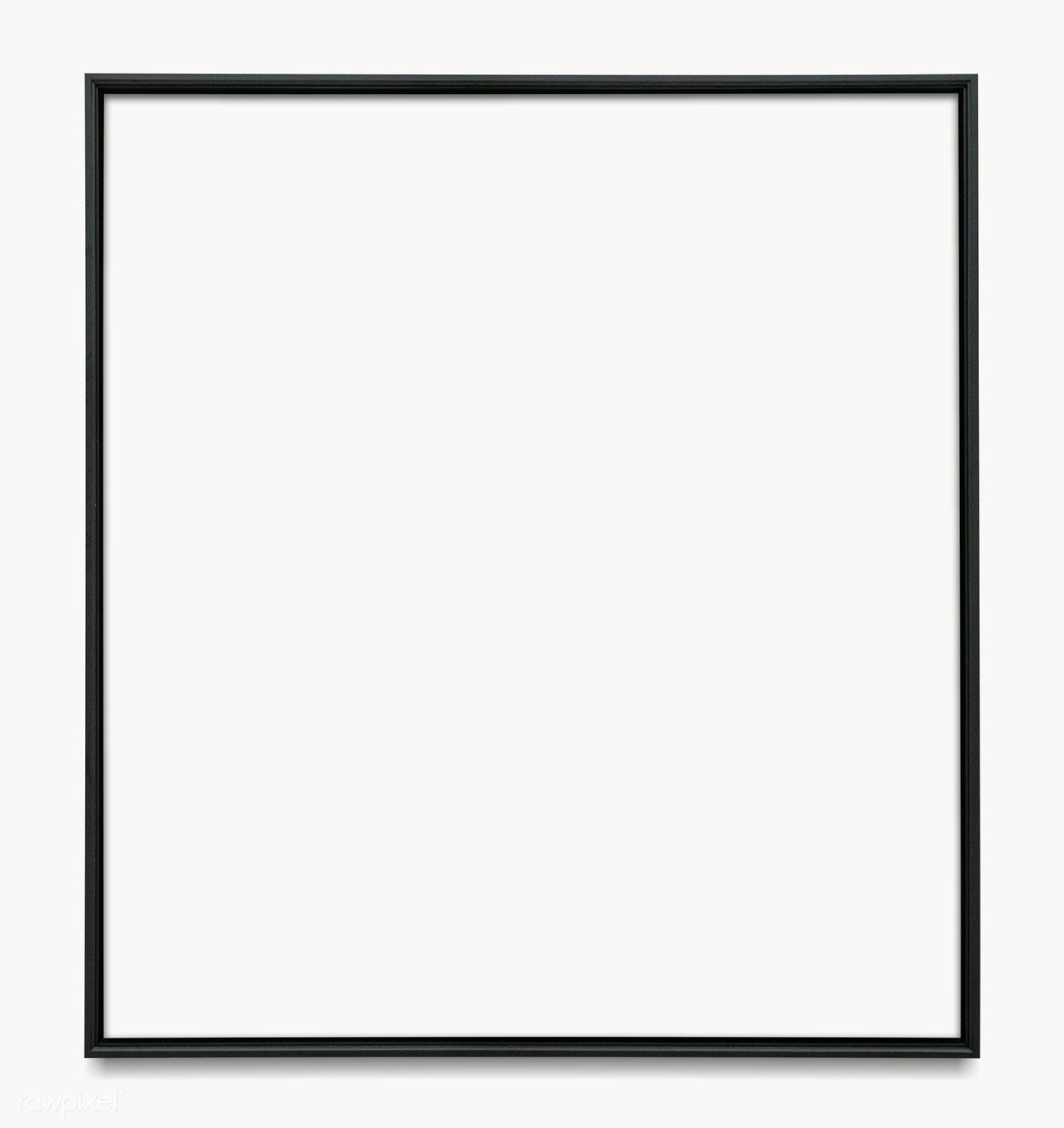 Download Premium Png Of Black Picture Frame Transparent Png 1230673 Black Picture Frames Picture Frames Green Screen Background Images