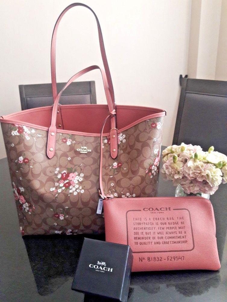 Coach Floral Bundle Reversible Tote Coachwomensbags Coach Tote Bags Bags Coach Tote