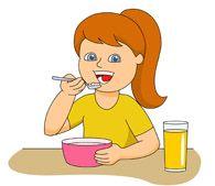 Eat Breakfast Clip Art Kids