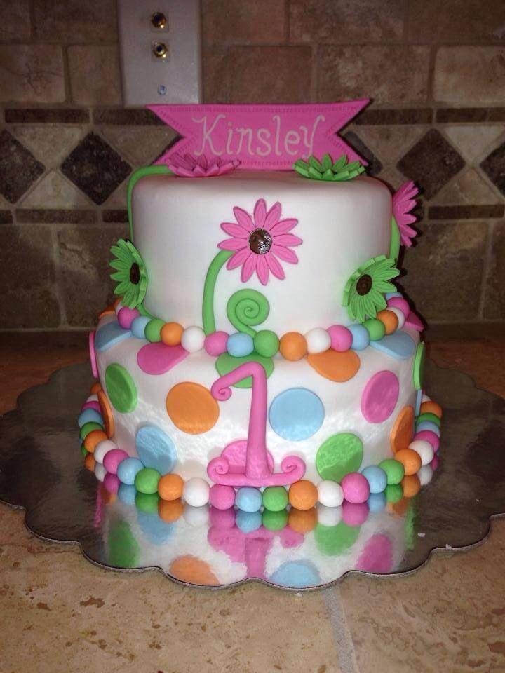 Babys 1st Birthday Cake I Made Mallory Gray 50 Cakes Of M50cakesofgrayyahoo Memphis TN
