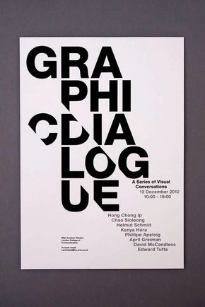 11+ Bold Typography Poster Examples, Templates & Ideas – Daily Design Inspiration #30 - 1000+ Infographics, Posters, Flyers & More | Venngage Gallery