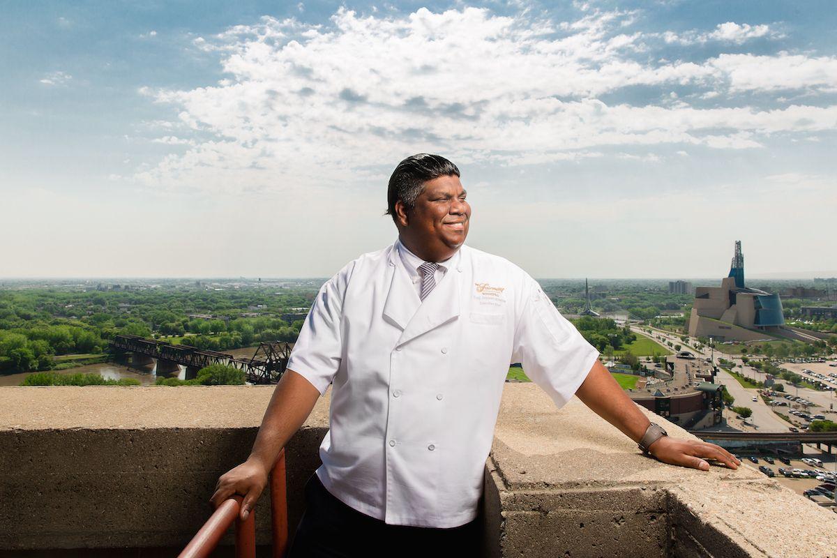 Executive Chef Eraj Jayawickreme