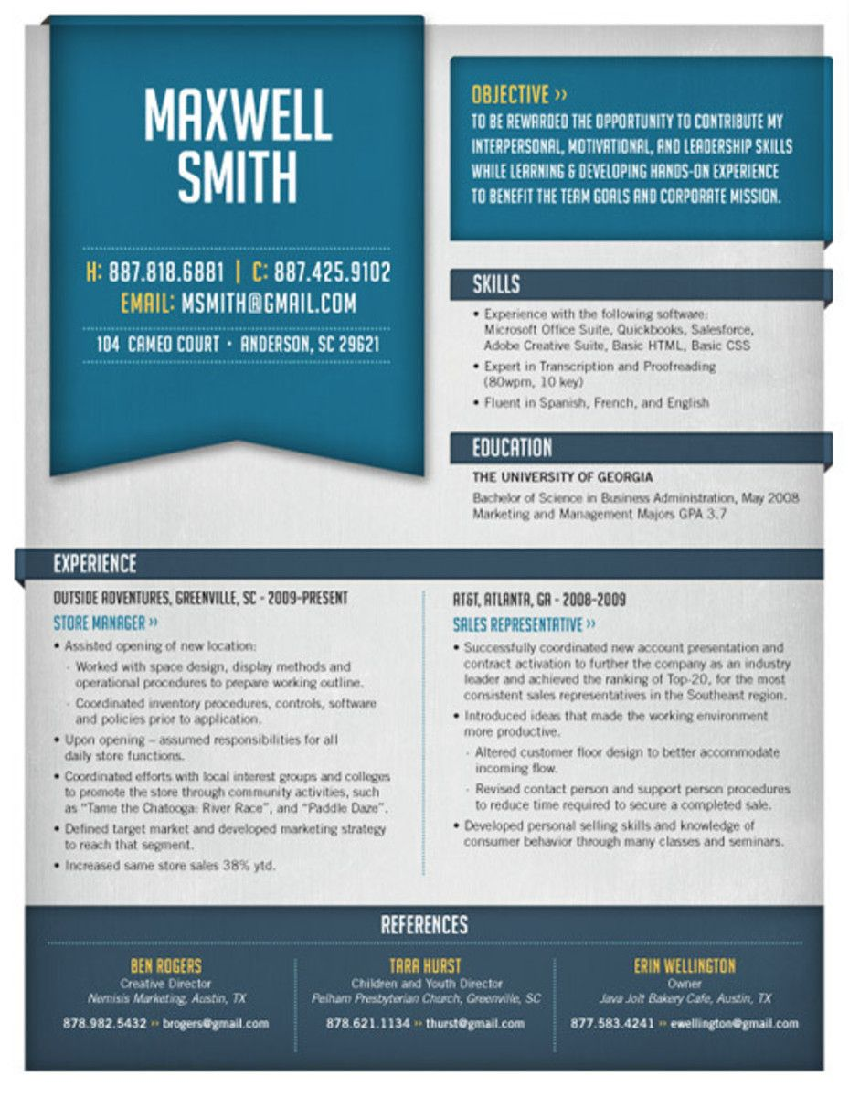 High Quality Custom ResumeCv Templates  Cv Template