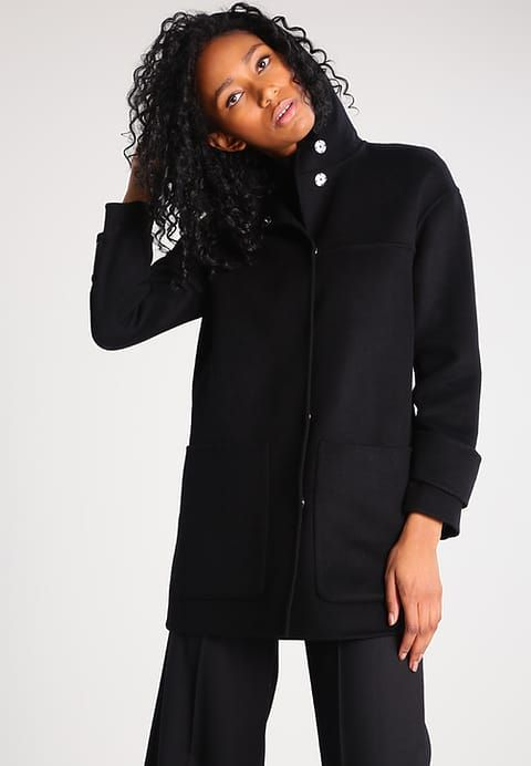 Pinko CRIMINI Manteau classique black Manteau Femme, Classique, Cols da81eda599b