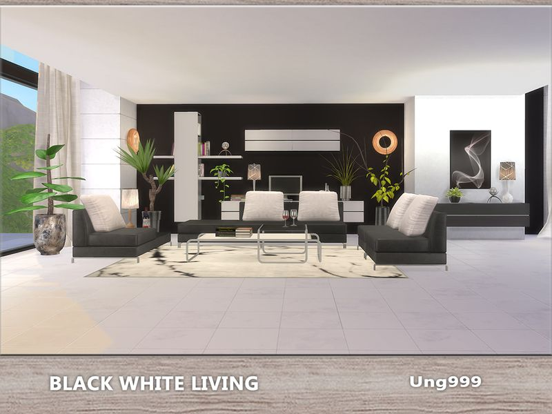 13 items come with this modern living room set, they are ...