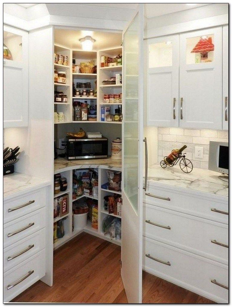 35 creative kitchen pantry ideas and designs 24  corner