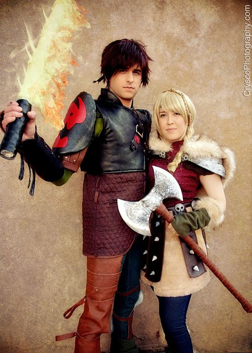 Hiccup Astrid from How to Train Your Dragon 2 Cosplay http   geekxgirls. 203b96c5f838