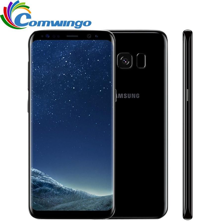 Samsung Galaxy S8 4gb Ram 64gb Rom Octa Core 4g Lte Mobile Phone 5 8 Inch 12mp Www Liquidastore Com Br Samsung Galaxy Samsung 4g Lte