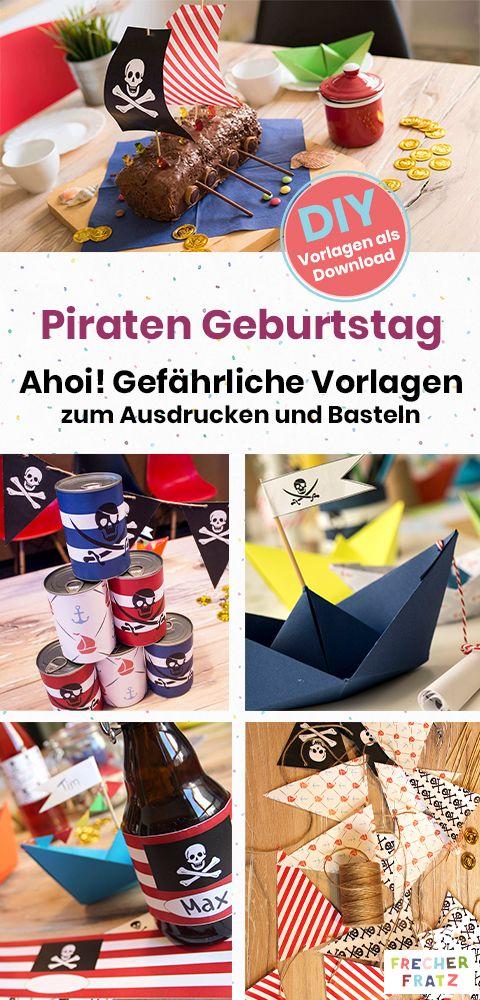 Fantastisch Der Piraten Geburtstag Steht Vor Der Tür Und Du Brauchst Auf Den Letzten  Drücker Noch Einladungen