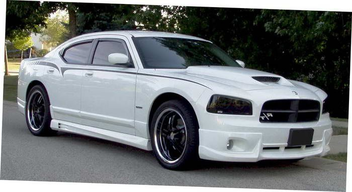 2010 Dodge Charger White I Want The Wheels Most Deft Maybe The