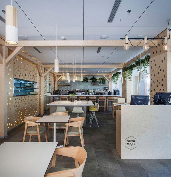 Greenhouse Cafe By Roni Keren Interior Design Interieur Design