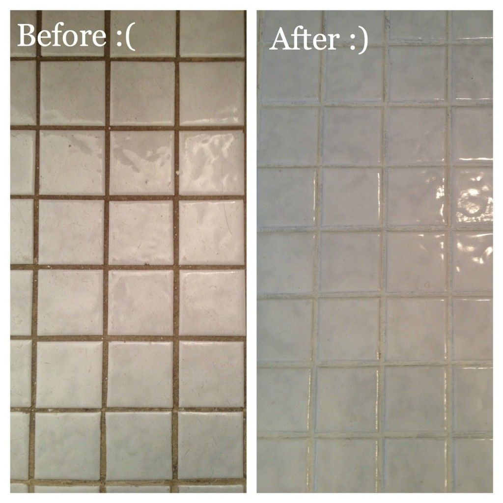 Grout Refresh- I Love This Product, Used It Lastnight To