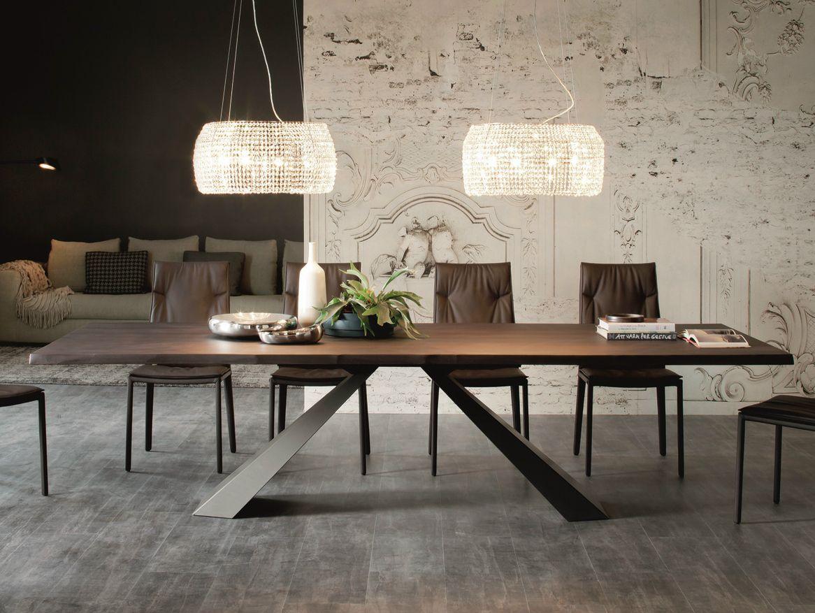 Tavolo Design In Legno : Tavolo design legno acciaio cristallo vintage design gio ponti