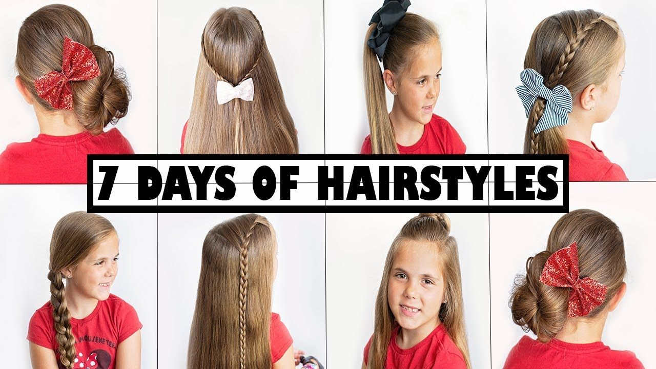 Easy One Minute Hairstyles For School Glasses In 2020 Easy Hairstyles Hairstyles For School Hair Styles