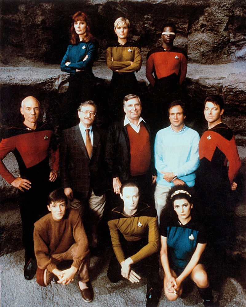 Tng Cast Reflects On How They Got The Part With Images Star