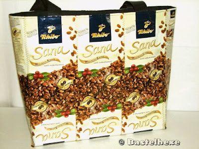 kaffeet tentasche 01 recycling recycling taschen pinterest sch ne geschenkideen taschen. Black Bedroom Furniture Sets. Home Design Ideas