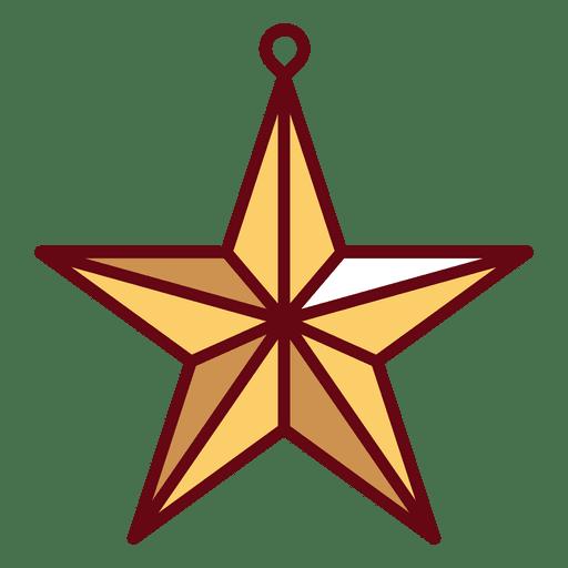 Christmas Star Transparent Png Svg Vector Christmas Star Ornament Decor Star Svg