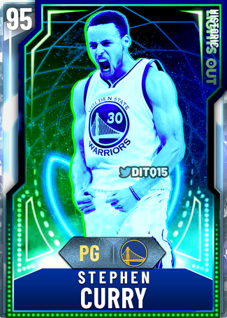 (5) Steph (For Real This Time) NBA 2K20 Custom Card