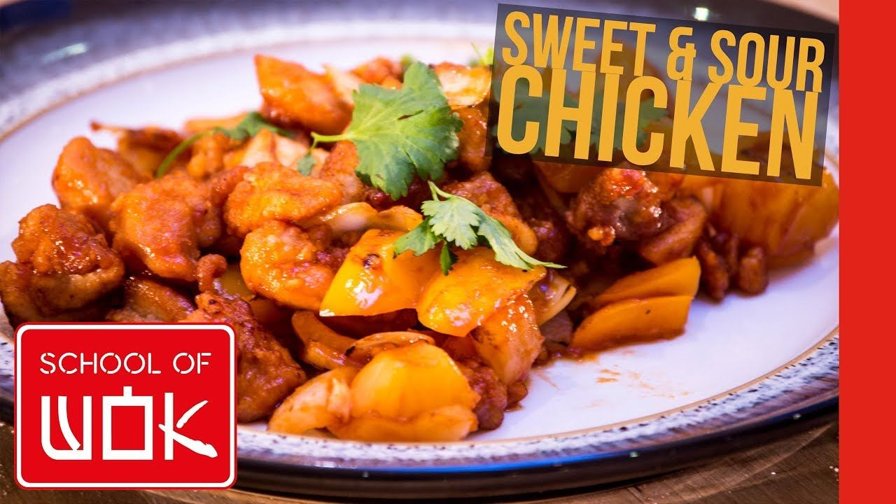 How To Cook An Easy Sweet And Sour Chicken Recipe Wok Wednesdays Youtube Chicken Recipes Sweet N Sour Chicken Sweet Sour Chicken