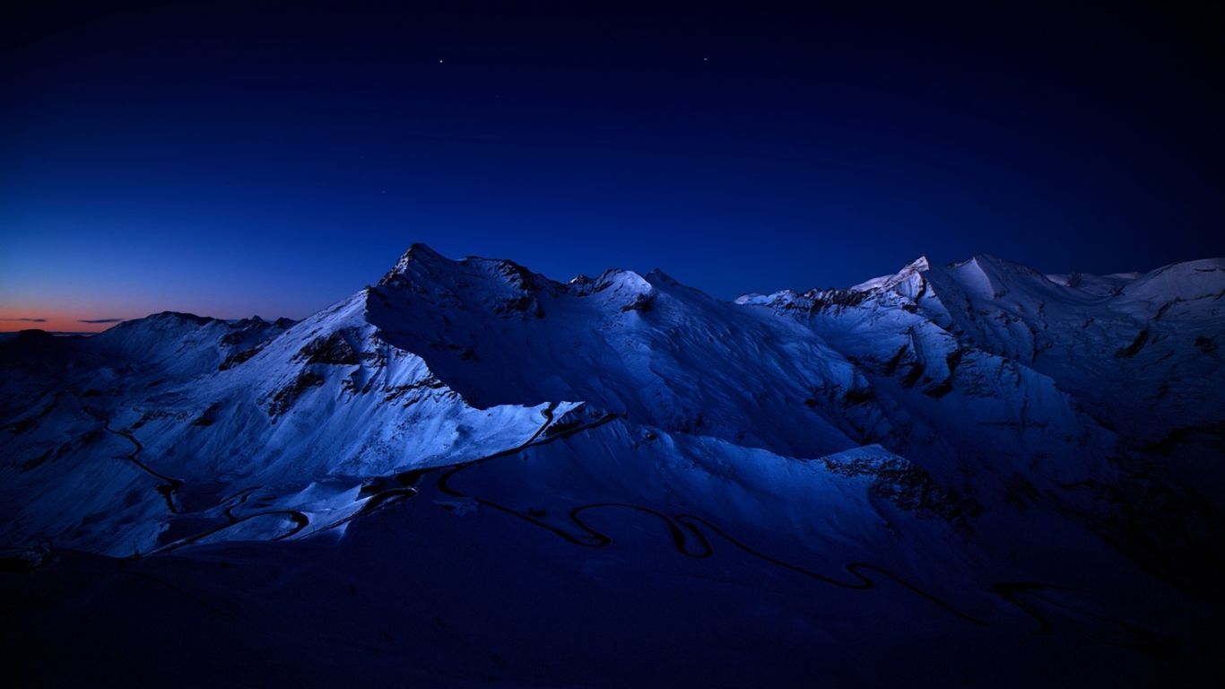 Dark Mountains Wallpaper Full Hd With High Resolution Wallpaper 1366x768 Px 526 92 Kb Mountains At Night Mountain Pictures Mountain Wallpaper