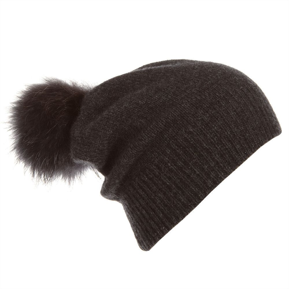 6168a495cc3 Girls Wool Pom-Pom Hat for Girl by Jamiks. Discover more beautiful designer  Hats for kids online