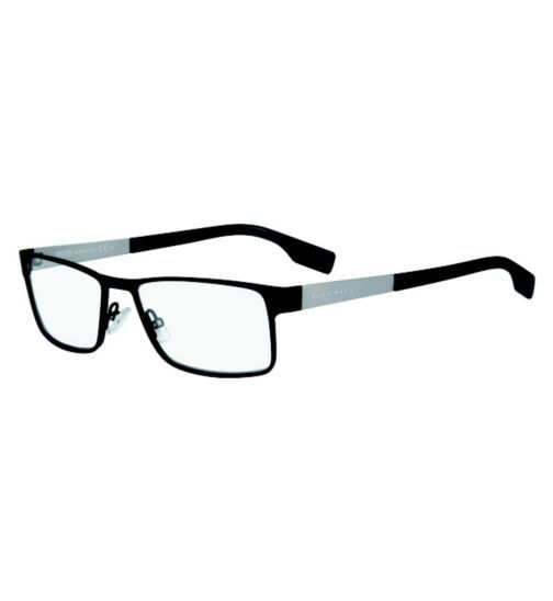 hugo boss mens black glasses opticians boots