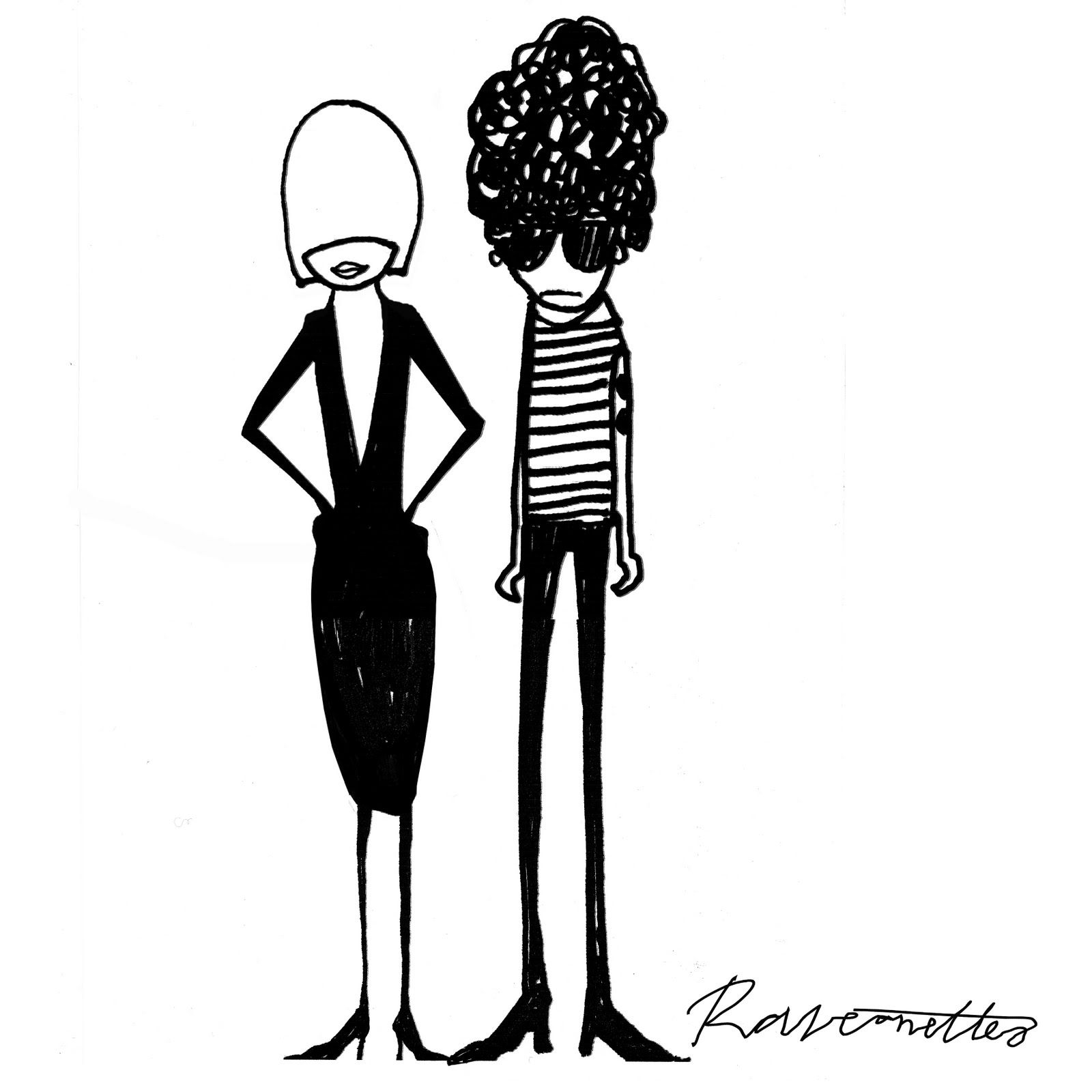 The Raveonettes. Sune Rose Wagner and Sharin Foo by Mørk Winther