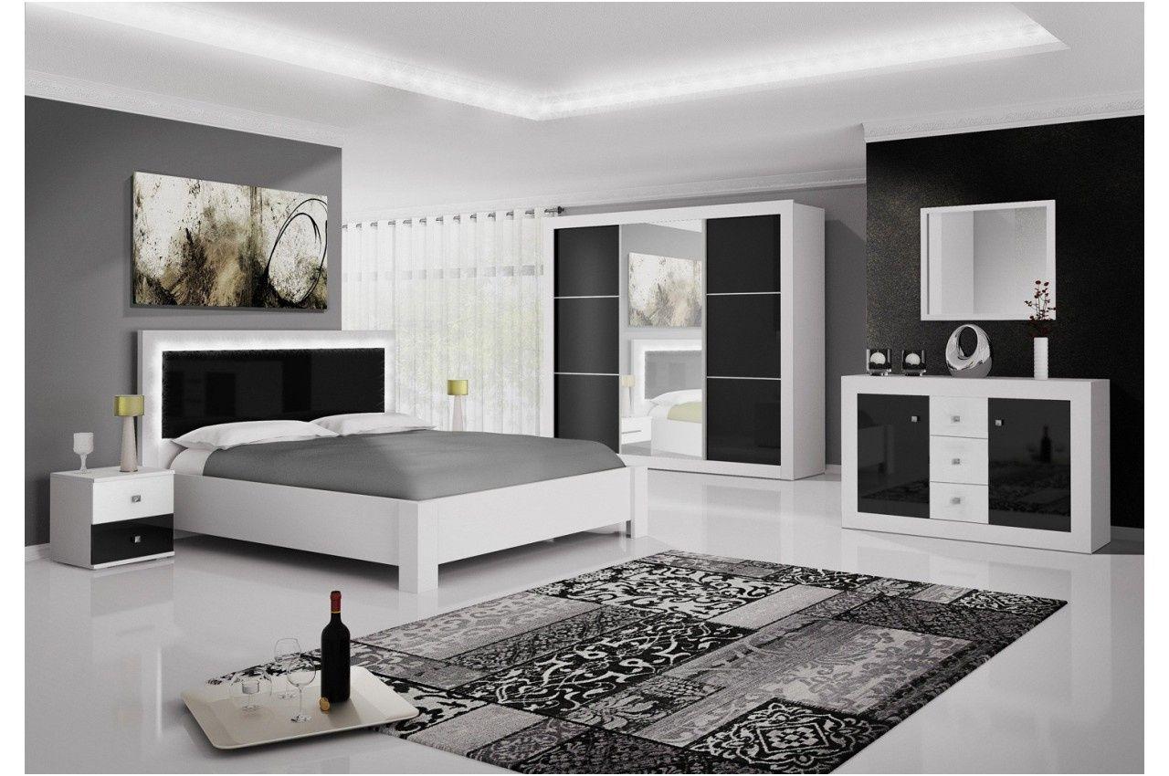 Amazonie Laque Noir Et Dore Ensemble Chambre A Coucher Bedroom Furniture Design Bedroom Bed Design Modern Luxury Bedroom