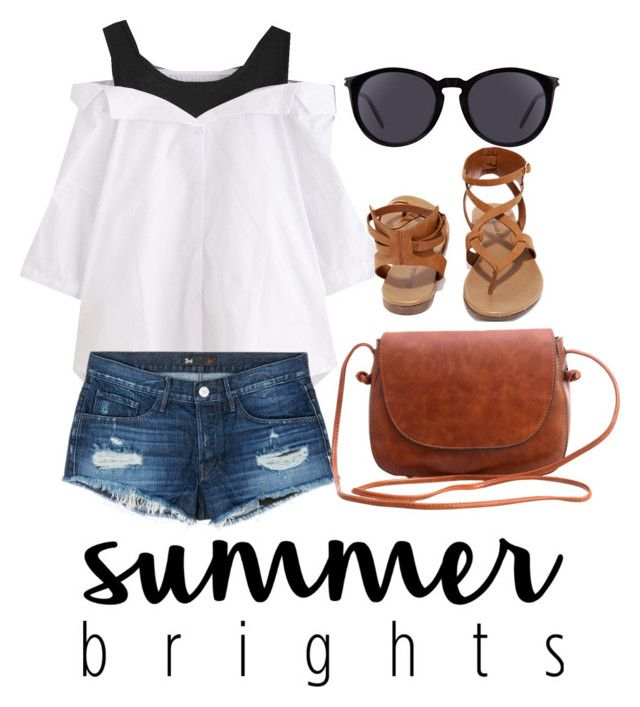 """Summer"" by rifdaadf on Polyvore featuring 3x1, Breckelle's and Yves Saint Laurent"